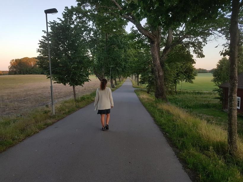 """""""Saknar du tid och motivation, bara GÅ"""" - Dag 73 av 365"""