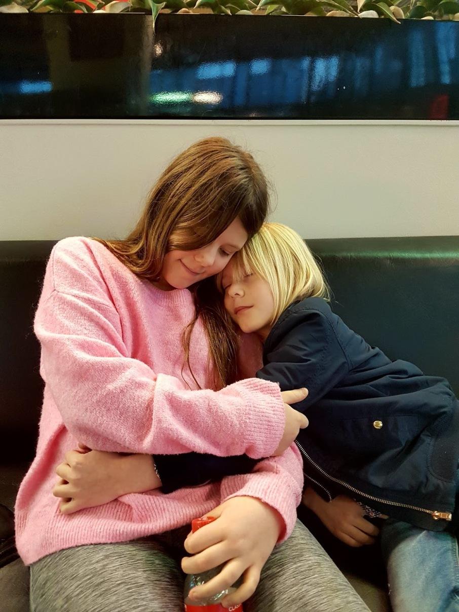 """""""Ibland blir jag så lycklig av att krama dig att jag nästan börjar gråta"""" - Dag 58 av 365"""